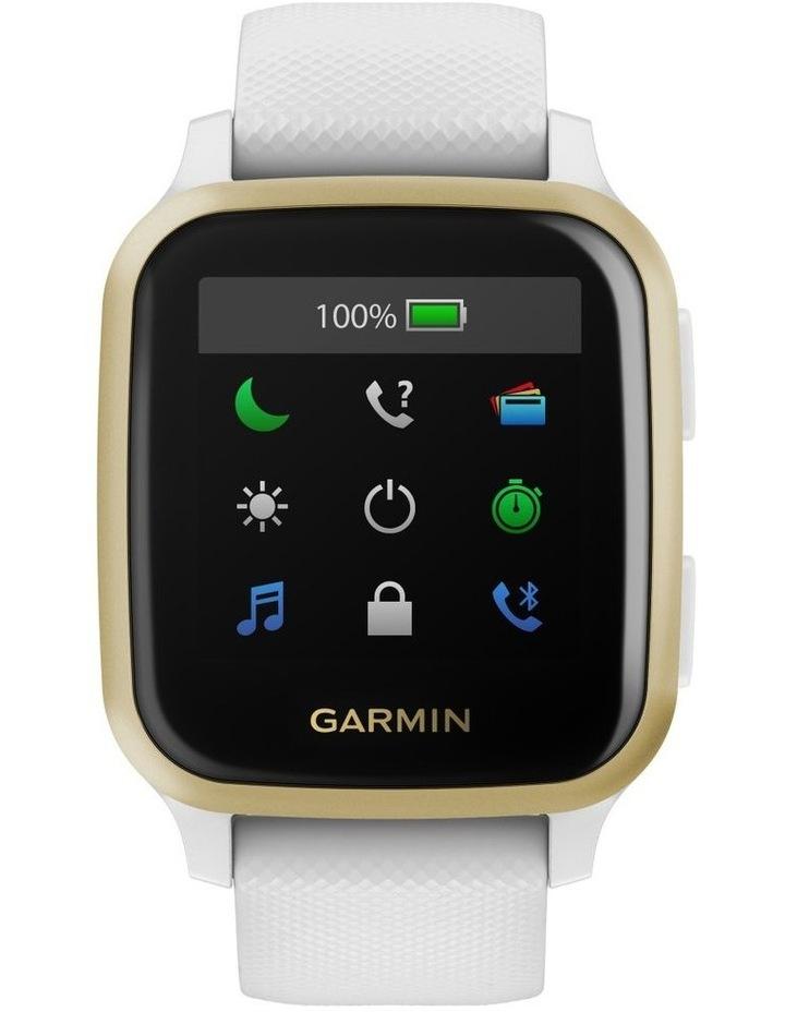 Venu Sq Smartwatch White/Light Gold image 1