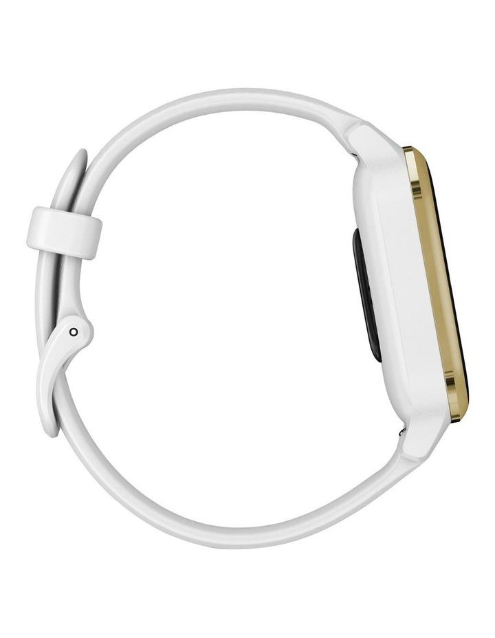 Venu Sq Smartwatch White/Light Gold image 4