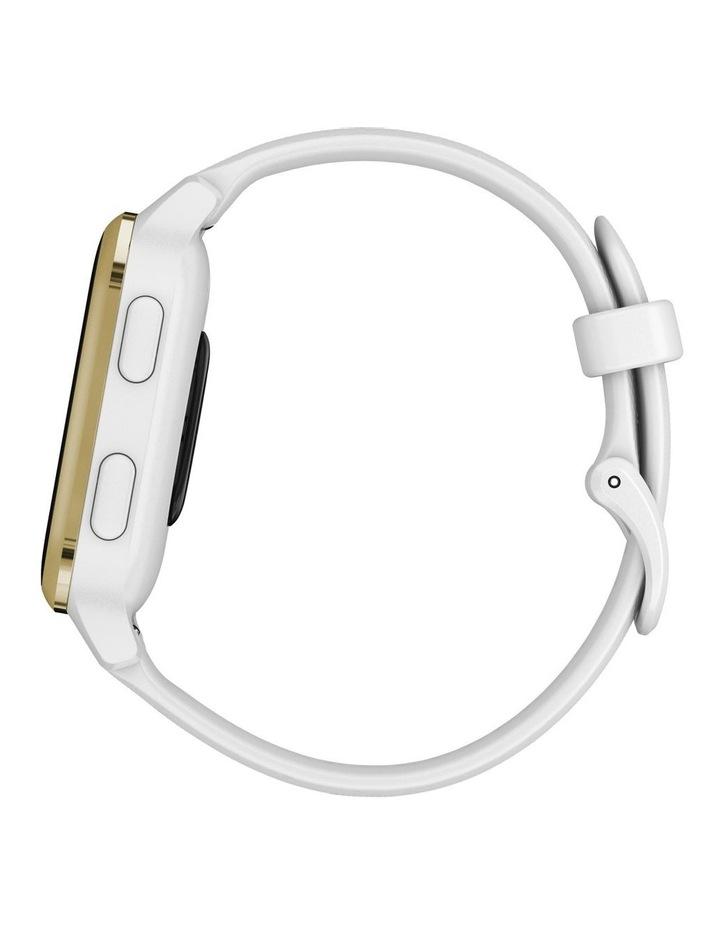 Venu Sq Smartwatch White/Light Gold image 5