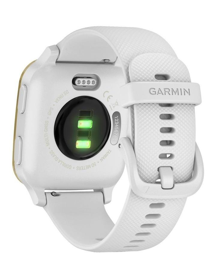 Venu Sq Smartwatch White/Light Gold image 6