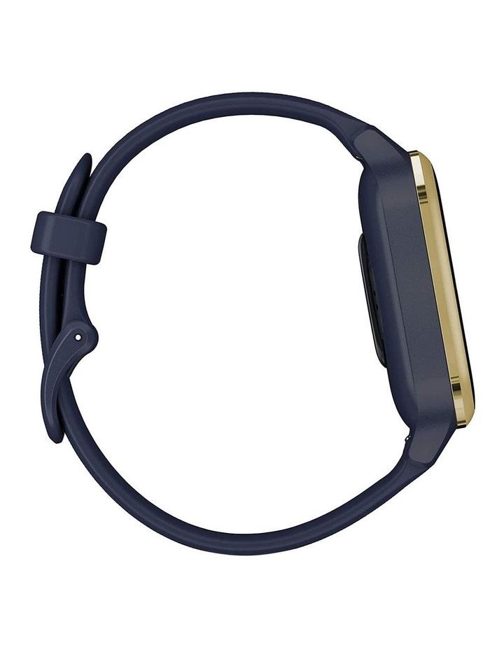 Venu Sq Smartwatch Music Edition Navy/Light Gold image 5