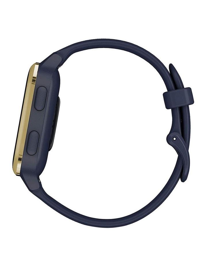 Venu Sq Smartwatch Music Edition Navy/Light Gold image 6