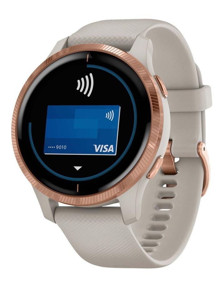 Venu GPS Smartwatch Light Sand/Rose Gold image 1