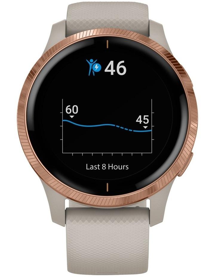 Venu GPS Smartwatch Light Sand/Rose Gold image 2