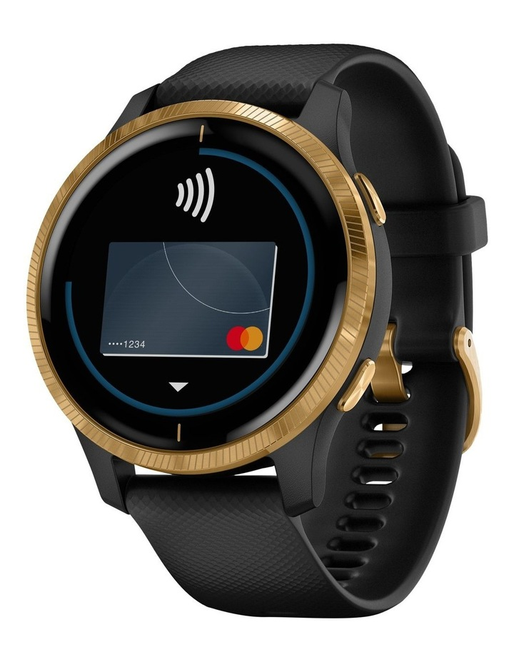 Venu GPS Smartwatch Black/Gold image 1
