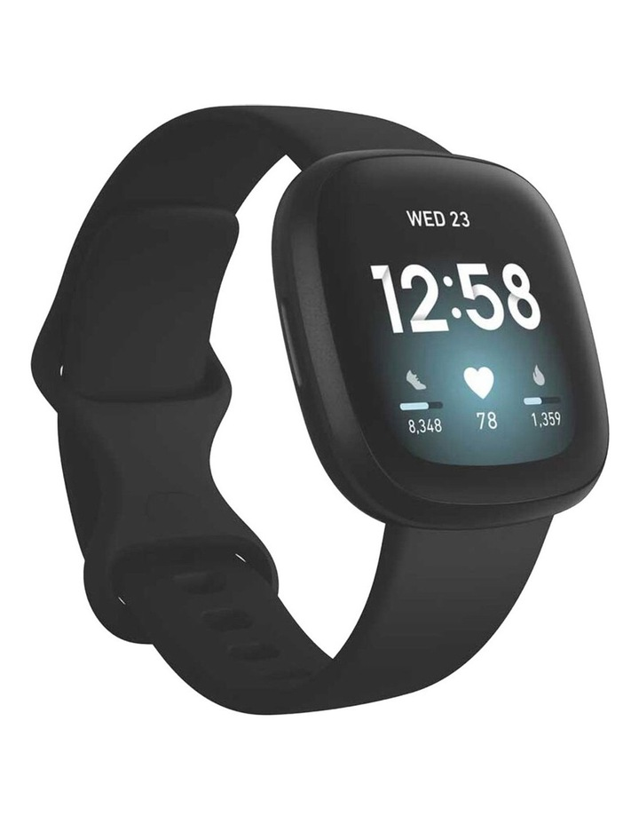 Versa 3 Black Smart Watch image 1