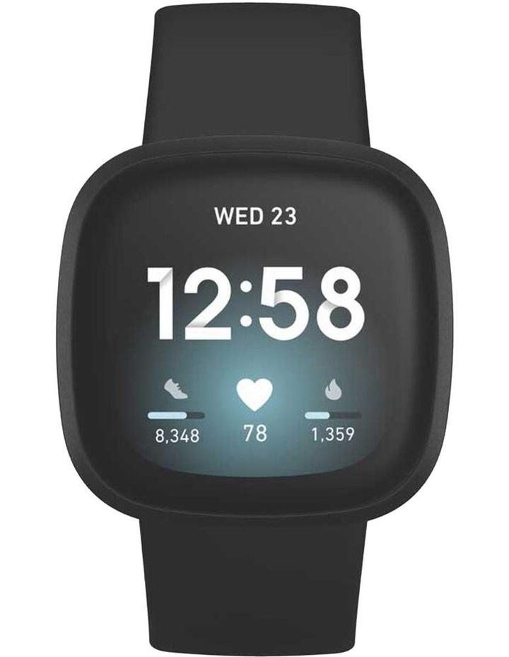Versa 3 Black Smart Watch image 2