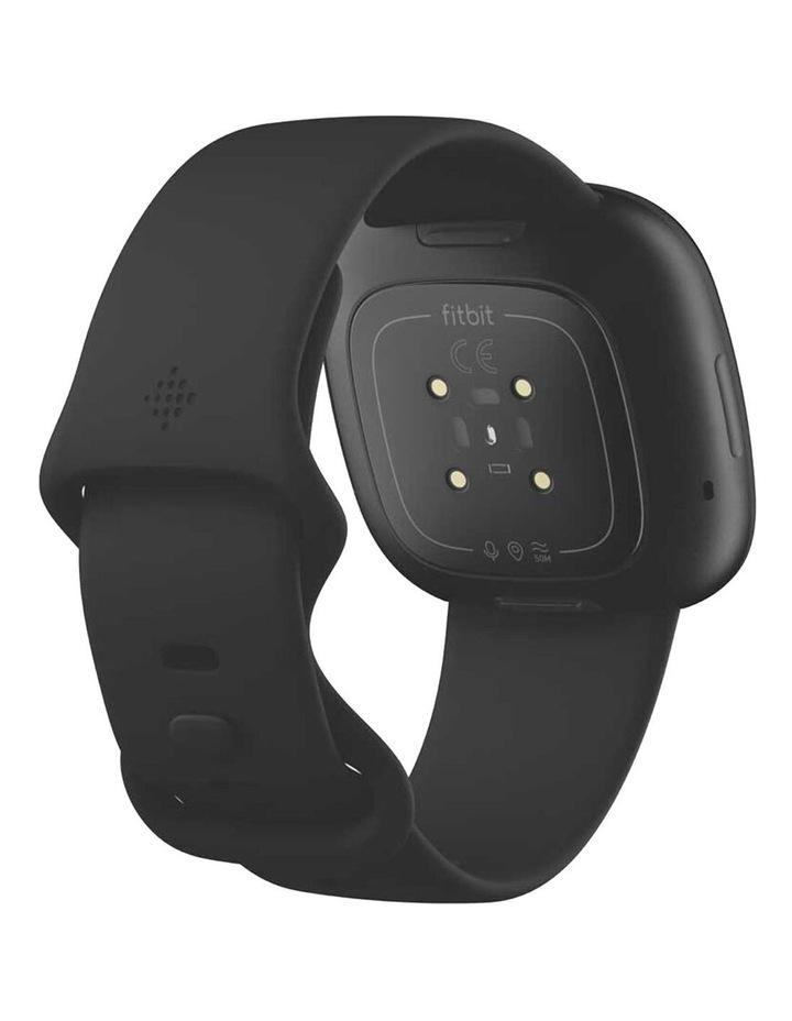 Versa 3 Black Smart Watch image 3