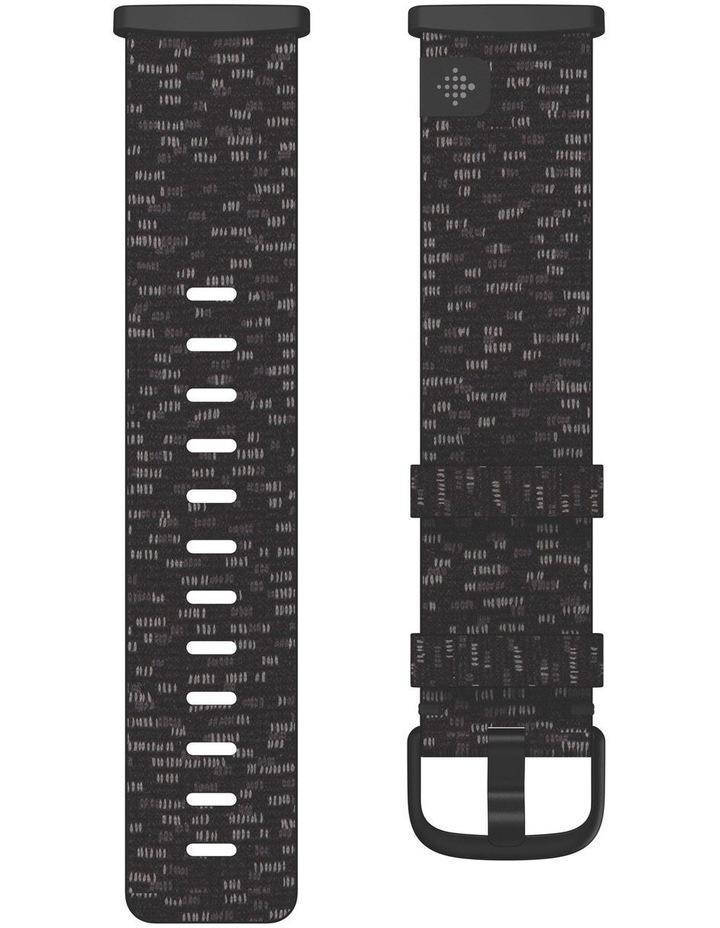 Sense & Versa 3 Large Woven Band in Charcoal image 2