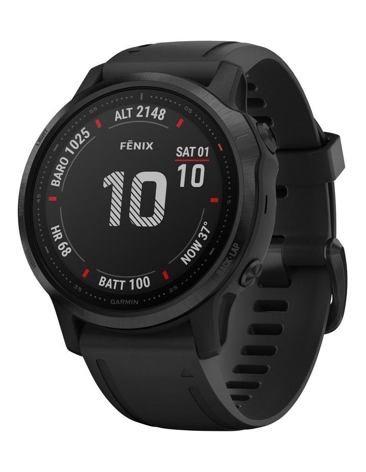 Fenix 6s Pro Edition - (42mm) Fitness Smartwatch - Black/Black image 1