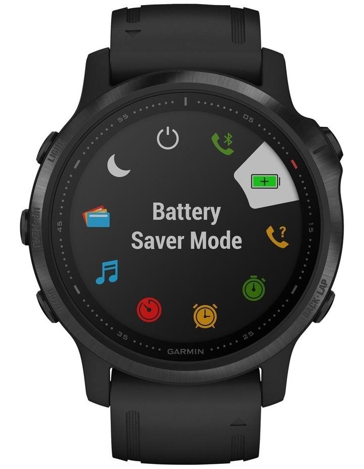 Fenix 6s Pro Edition - (42mm) Fitness Smartwatch - Black/Black image 2
