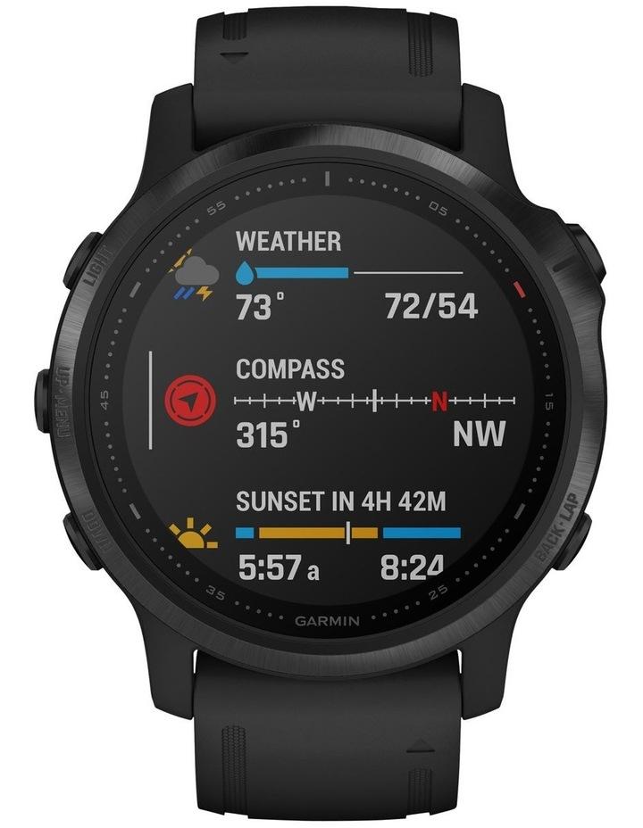 Fenix 6s Pro Edition - (42mm) Fitness Smartwatch - Black/Black image 3