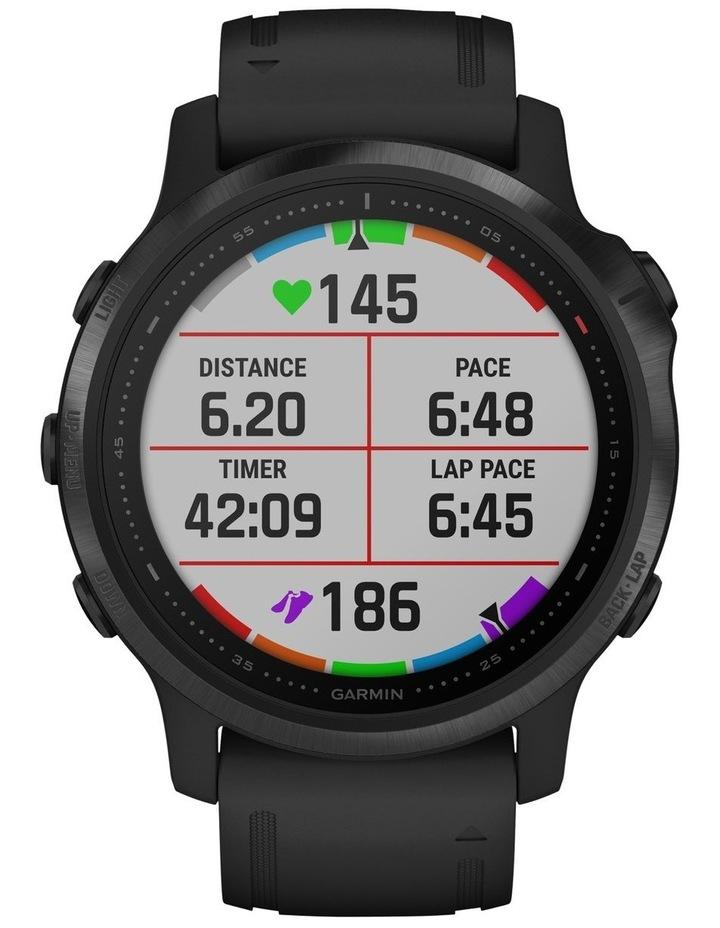 Fenix 6s Pro Edition - (42mm) Fitness Smartwatch - Black/Black image 4