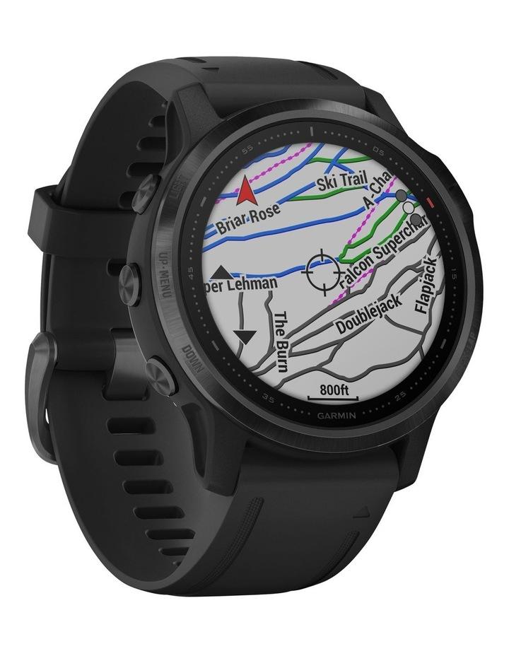 Fenix 6s Pro Edition - (42mm) Fitness Smartwatch - Black/Black image 5