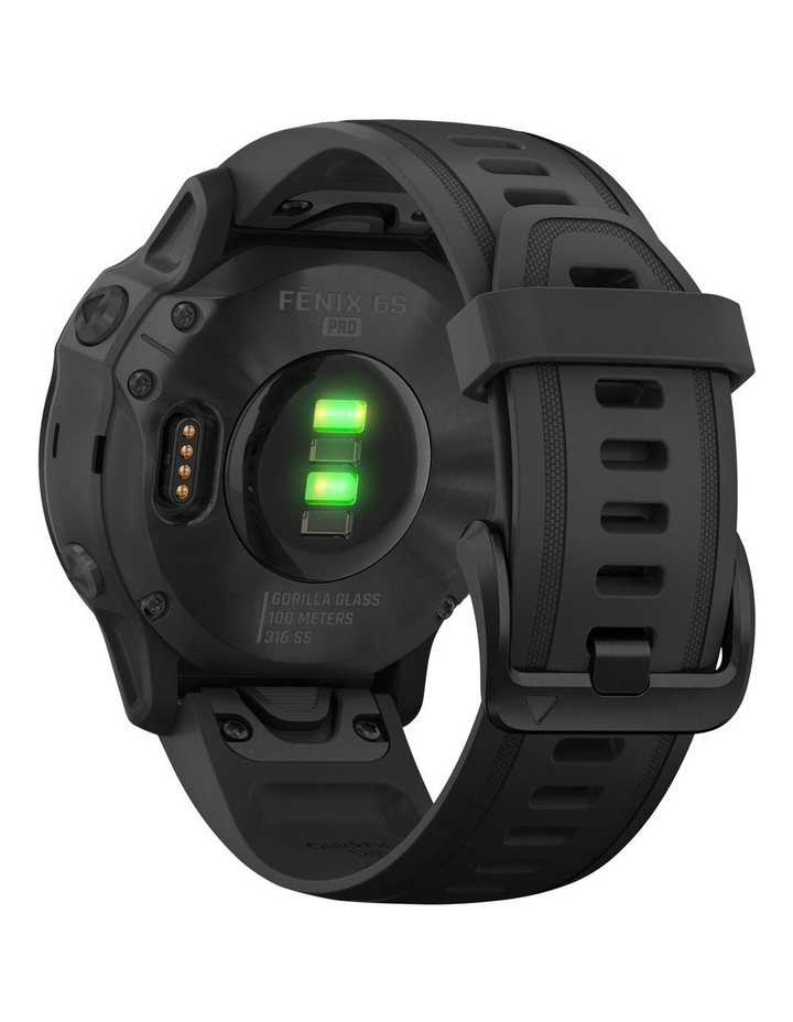 Fenix 6s Pro Edition - (42mm) Fitness Smartwatch - Black/Black image 6