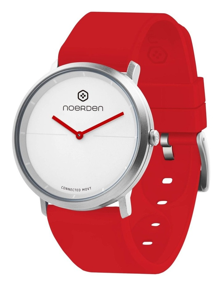 LIFE2 Hybrid Smart Watch Red image 1