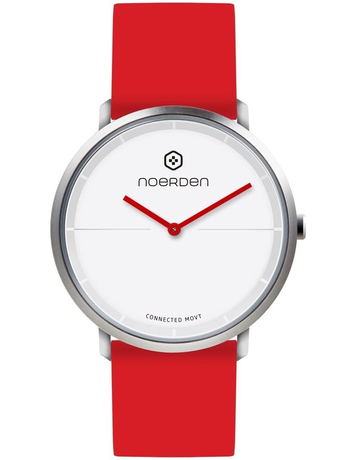 LIFE2 Hybrid Smart Watch Red image 3