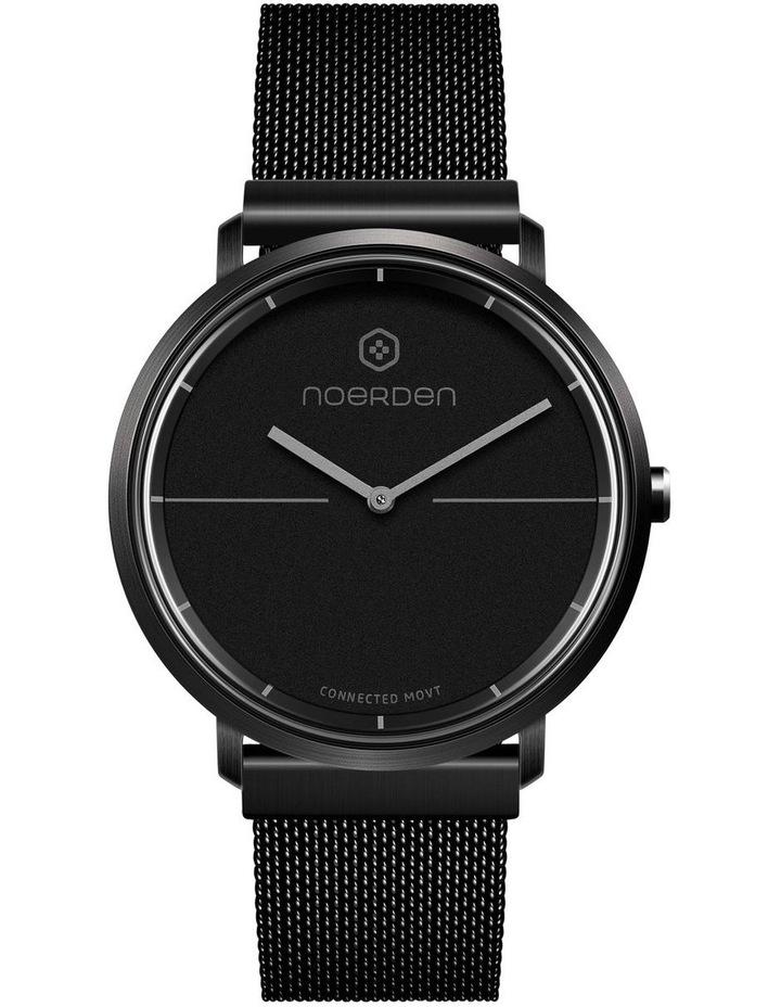 LIFE2  Milanese Hybrid Smart Watch Black image 1