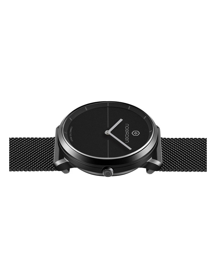 LIFE2  Milanese Hybrid Smart Watch Black image 3