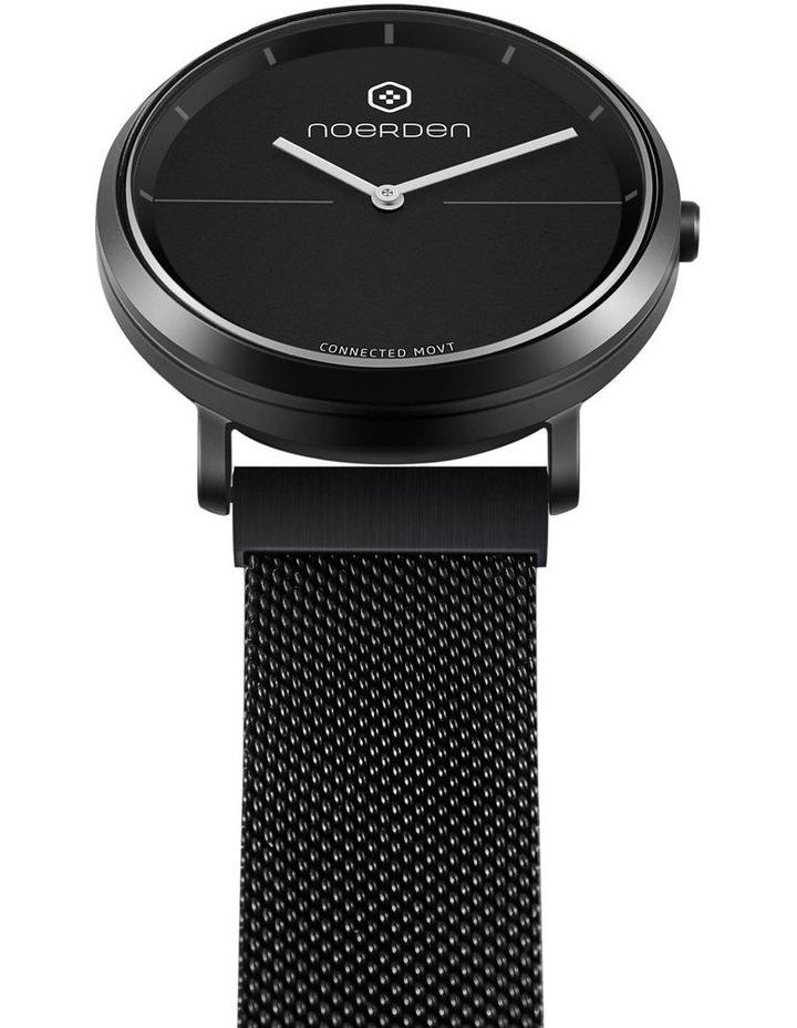 LIFE2  Milanese Hybrid Smart Watch Black image 4