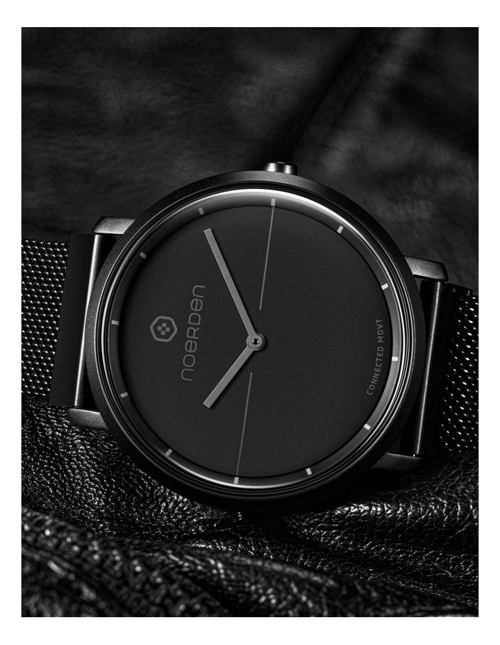 LIFE2  Milanese Hybrid Smart Watch Black image 5