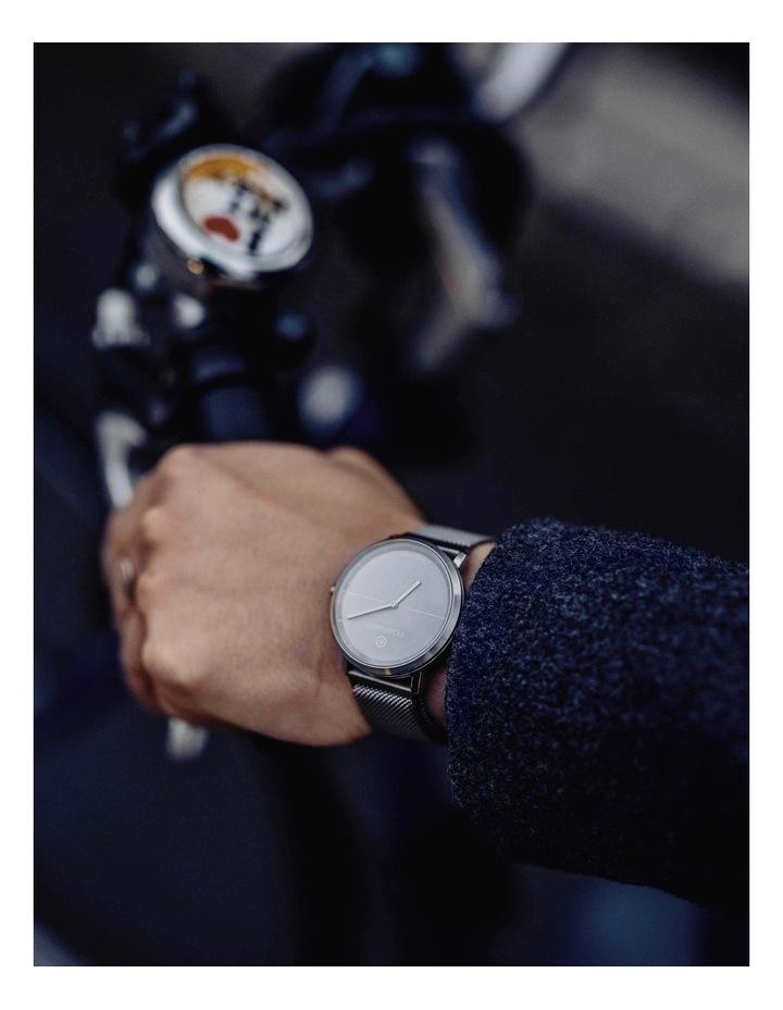 LIFE2  Milanese Hybrid Smart Watch Black image 6