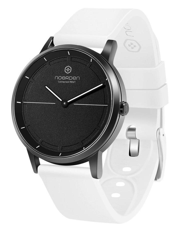 MATE2 Hybrid Smart Watch Black/White image 1