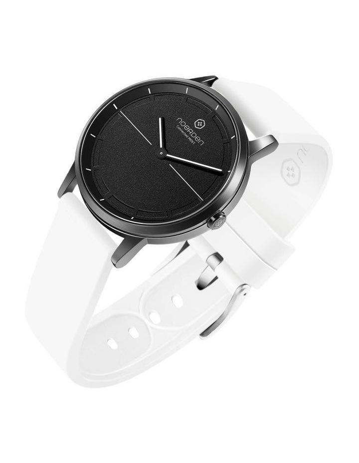 MATE2 Hybrid Smart Watch Black/White image 3
