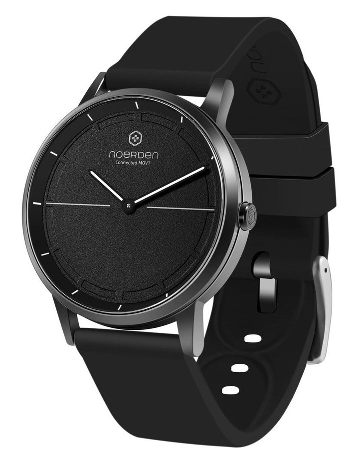 MATE2 Hybrid Smart Watch Black/Black image 1