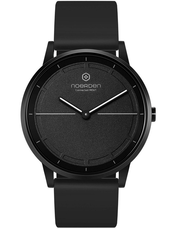 MATE2 Hybrid Smart Watch Black/Black image 5