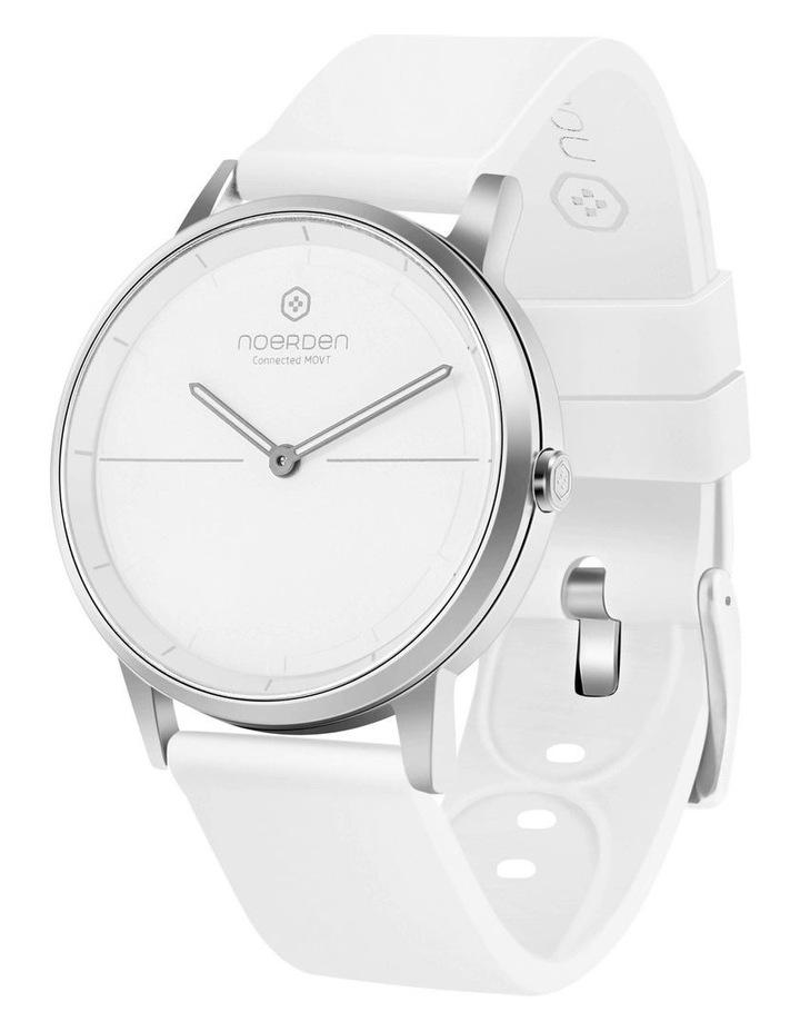 MATE2 Hybrid Smart Watch White/White image 1