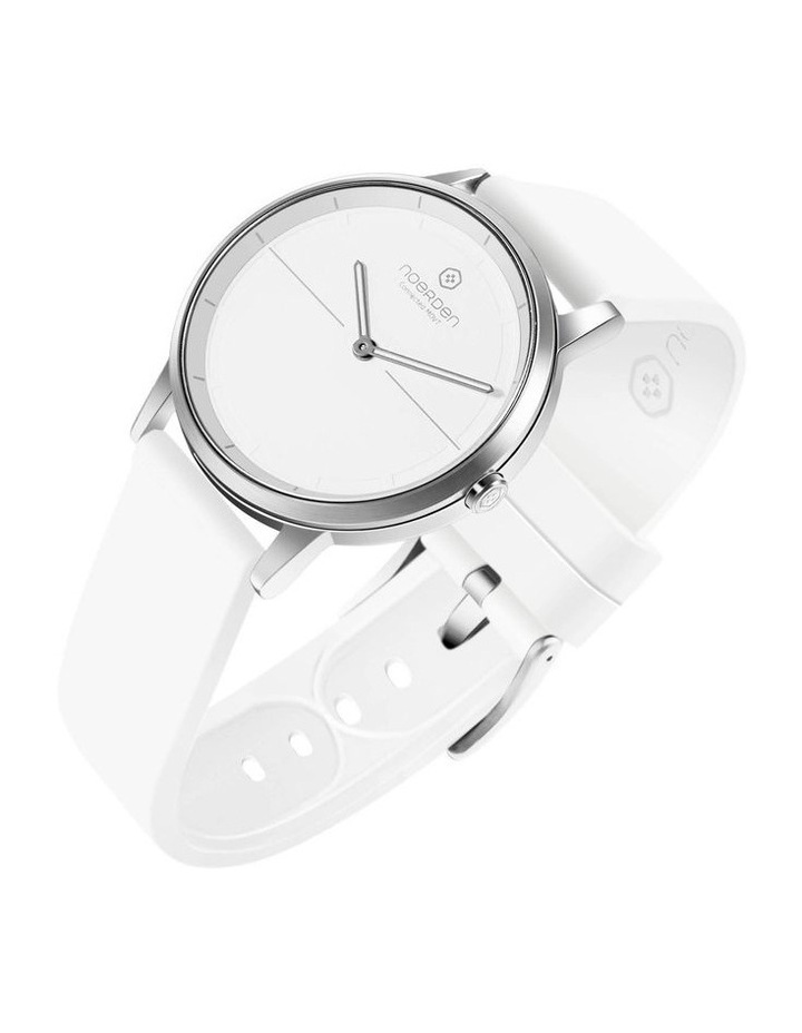 MATE2 Hybrid Smart Watch White/White image 3