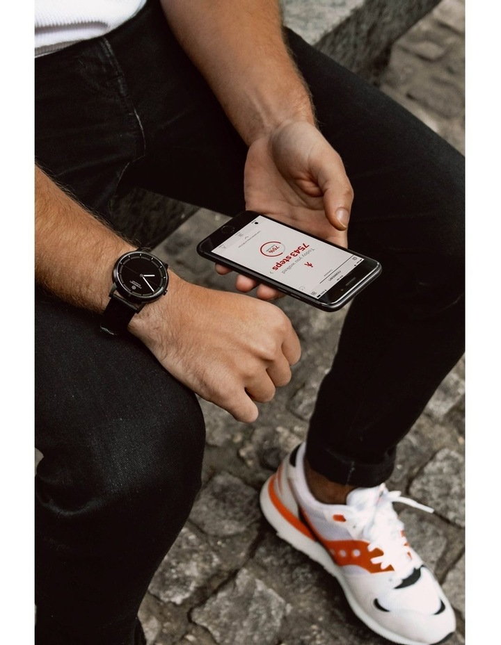MATE2  Hybrid Smart Watch Black image 7