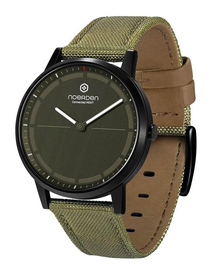 MATE2  Khaki Hybrid Smart Watch image 1