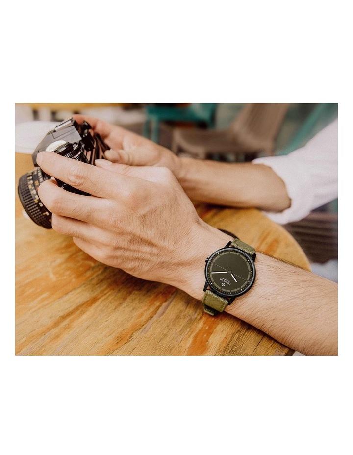MATE2  Khaki Hybrid Smart Watch image 6