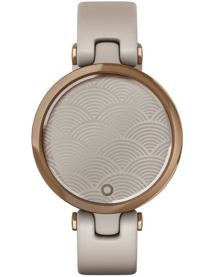 Lily - Sport Edition - RoseGold/LightSand Silicone Band image 4