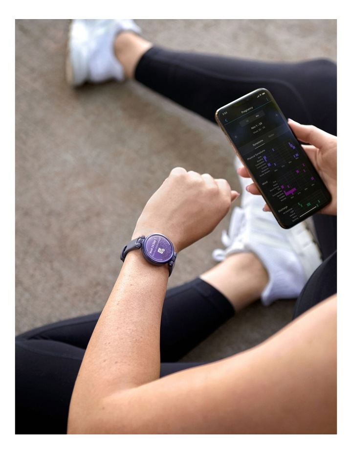 Lily 'Sport Edition' Smartwatch In Purple image 6