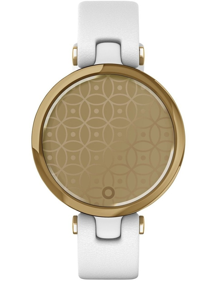 Lily - Classic Edition - LightGold/White Leather Band image 4