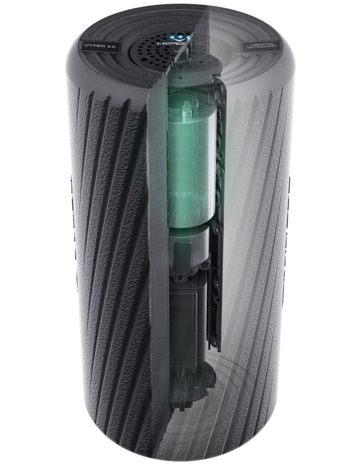 Vyper Vibrating Fitness Roller Black 31000 001-00 image 5