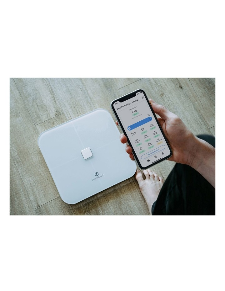 Sensori Smart Body Scale White PNS-0202 image 6