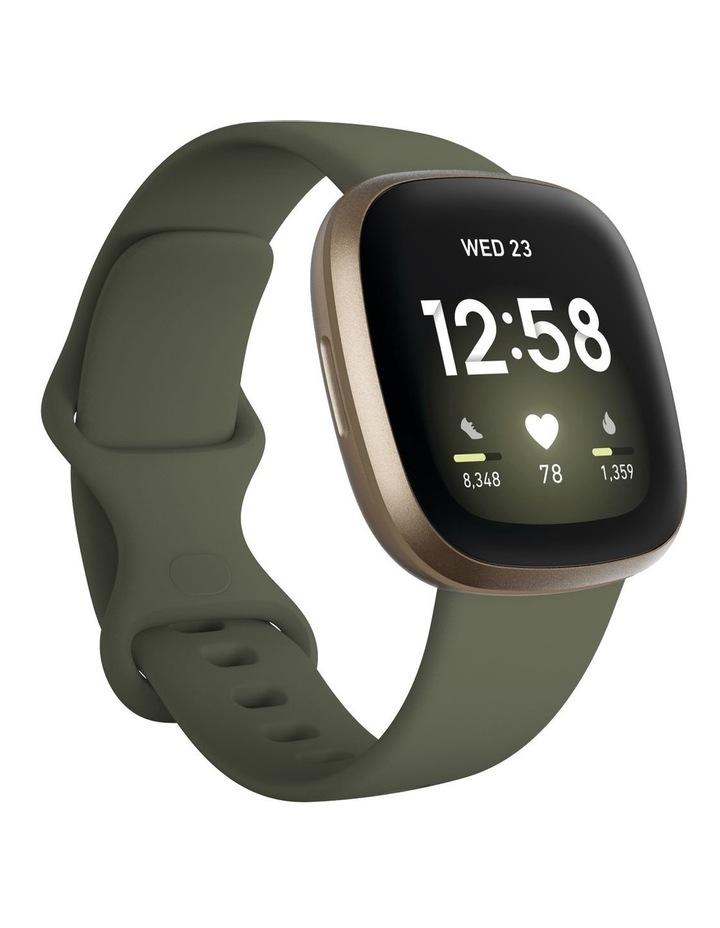 Versa 3 Smart Fitness Watch Olive/Soft Gold image 1