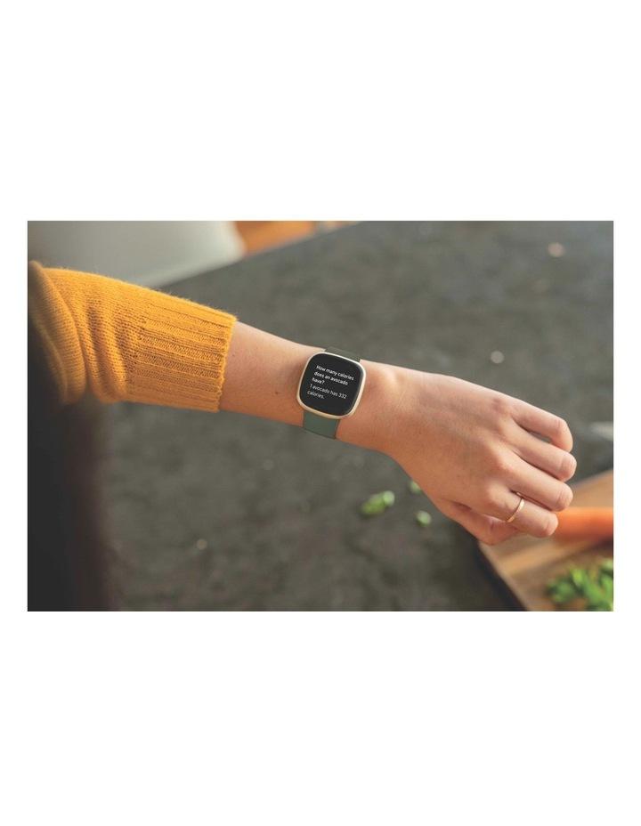 Versa 3 Smart Fitness Watch Olive/Soft Gold image 2