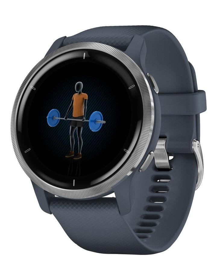 Venu 2 Fitness Smartwatch 45mm In Silver/Granite image 2