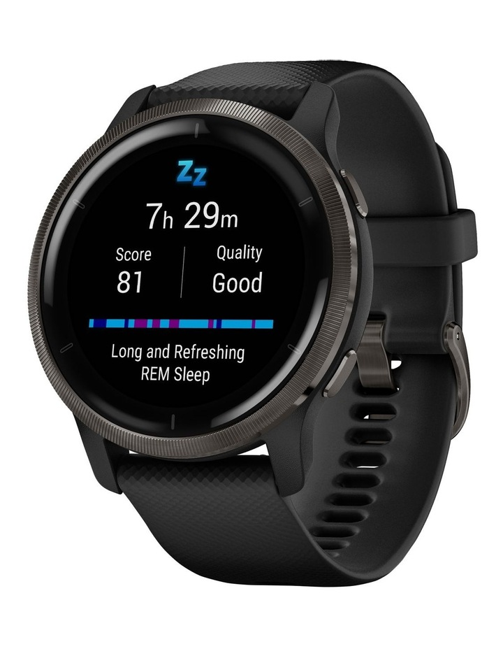Venu 2 Fitness Smartwatch (45mm) - Black/Slate image 2