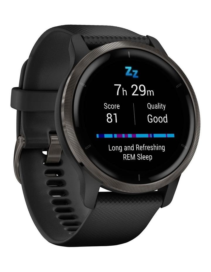 Venu 2 Fitness Smartwatch (45mm) - Black/Slate image 3
