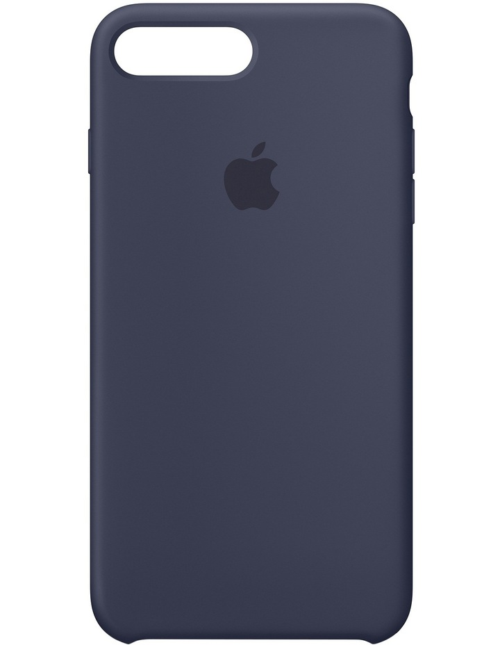 iPhone 7 Plus Silicone Case - Midnight Blue MMQU2FE/A image 1