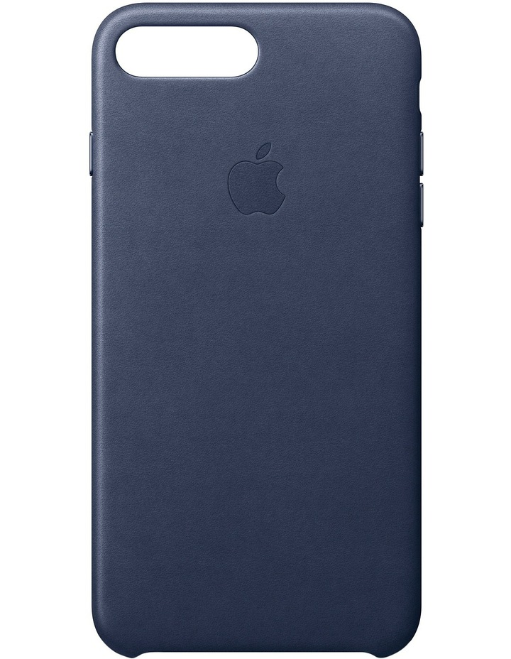 iPhone 7 Plus Leather Case - Midnight Blue MMYG2FE/A image 1