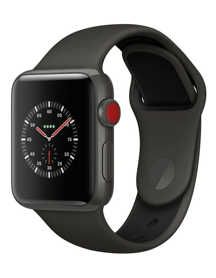 Apple Watch Edition GPS   Cellular 38mm Grey Ceramic Case with Grey/Black Sport Band image 1