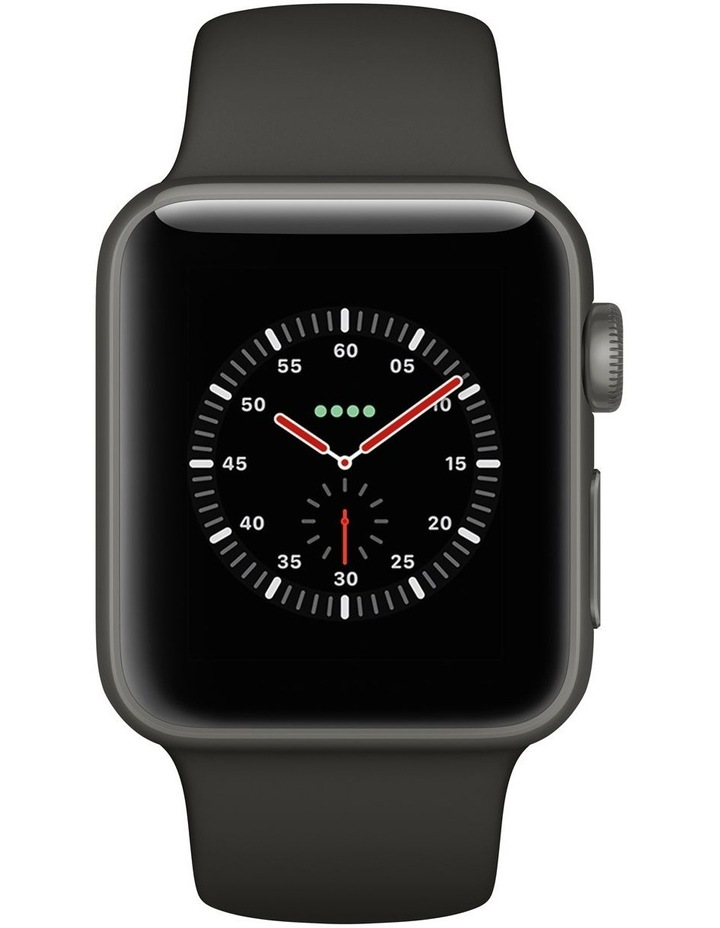 Apple Watch Edition GPS   Cellular 38mm Grey Ceramic Case with Grey/Black Sport Band image 2