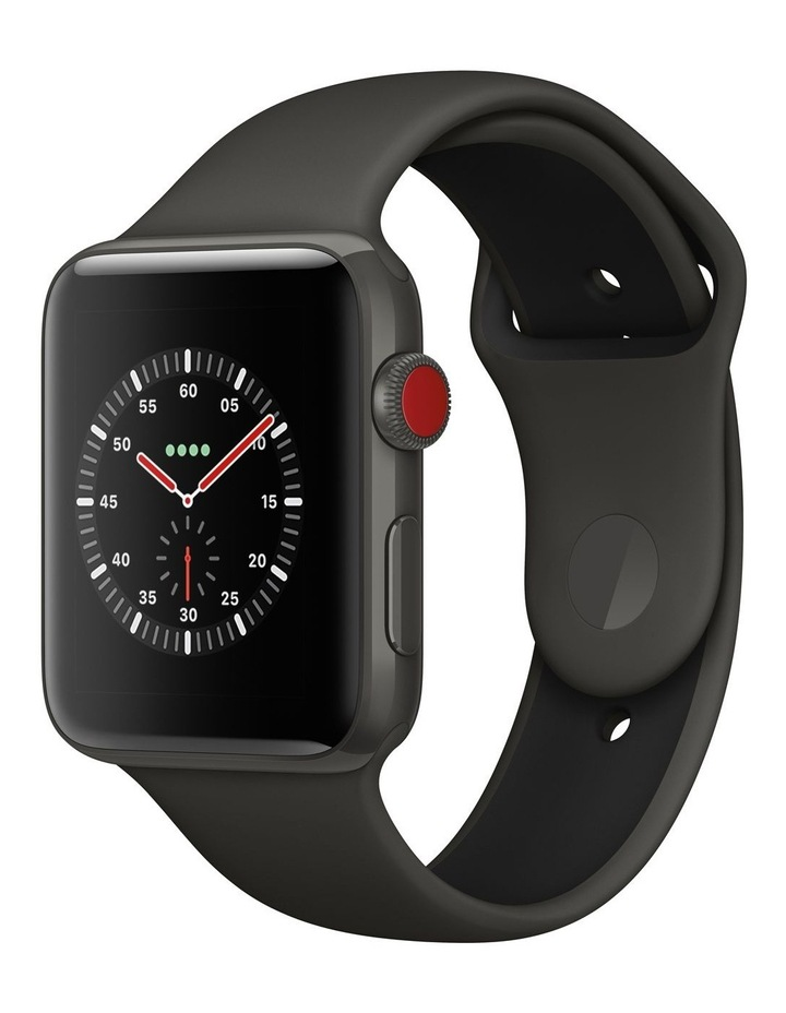 Apple Watch Edition GPS   Cellular 42mm Grey Ceramic Case with Grey/Black Sport Band image 1
